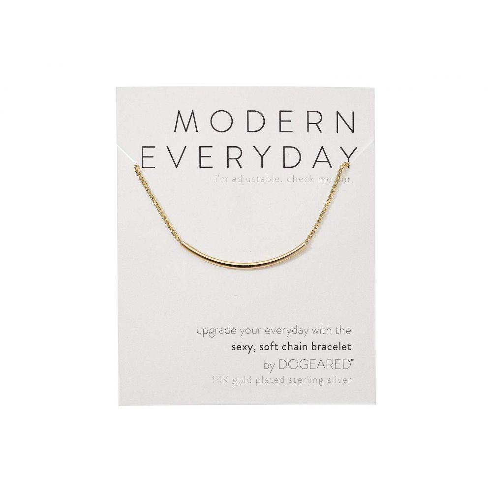 ドギャード Dogeared レディース ジュエリー・アクセサリー ブレスレット【Modern Everyday, Soft Chain Bracelet】Gold