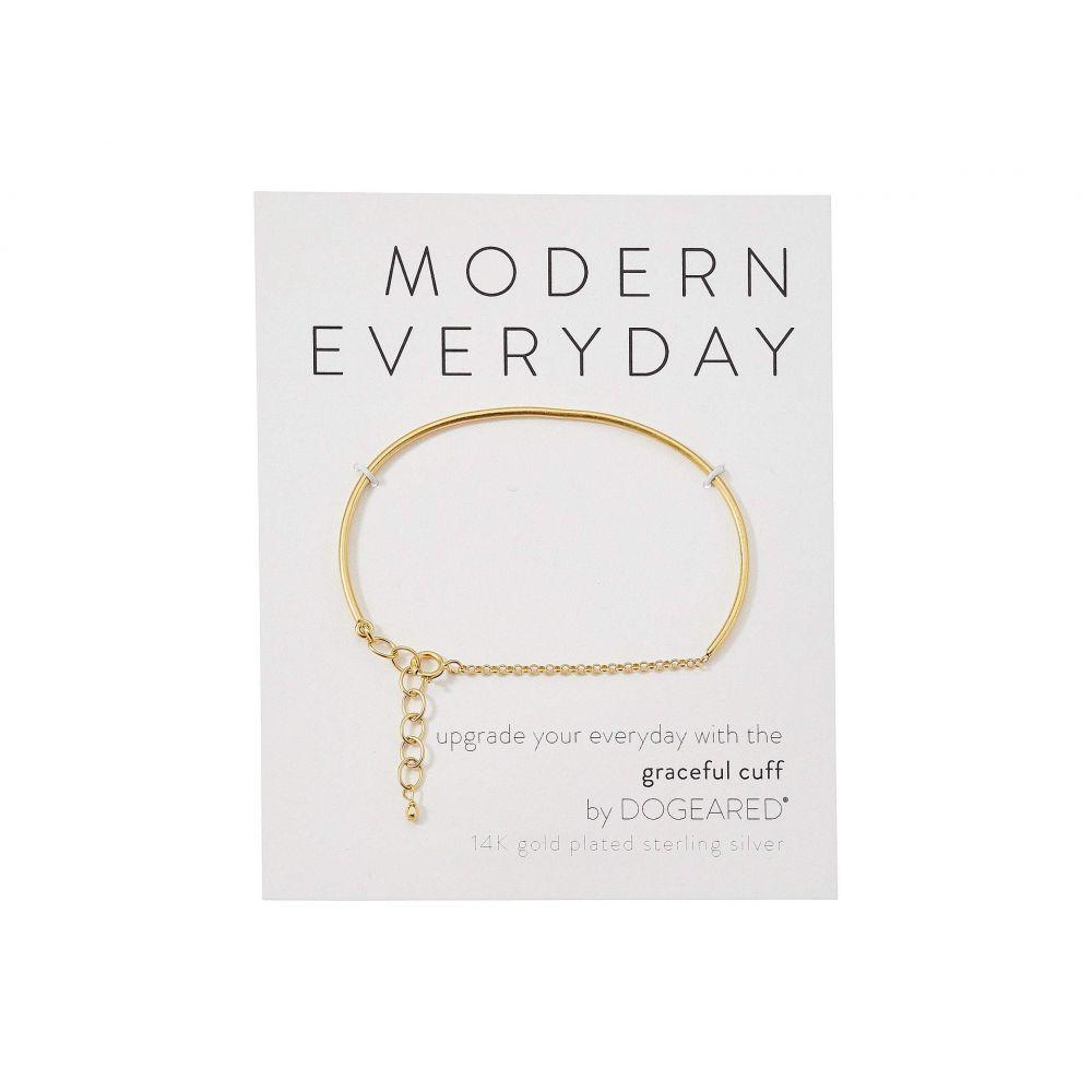 ドギャード Dogeared レディース ジュエリー・アクセサリー ブレスレット【Modern Everyday, Graceful Cuff Bracelet】Gold