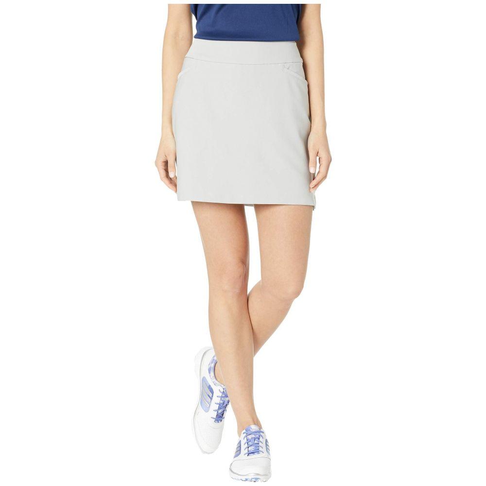 アディダス adidas Golf レディース スカート ミニスカート【Ultimate Woven 16' Skort】Grey Two