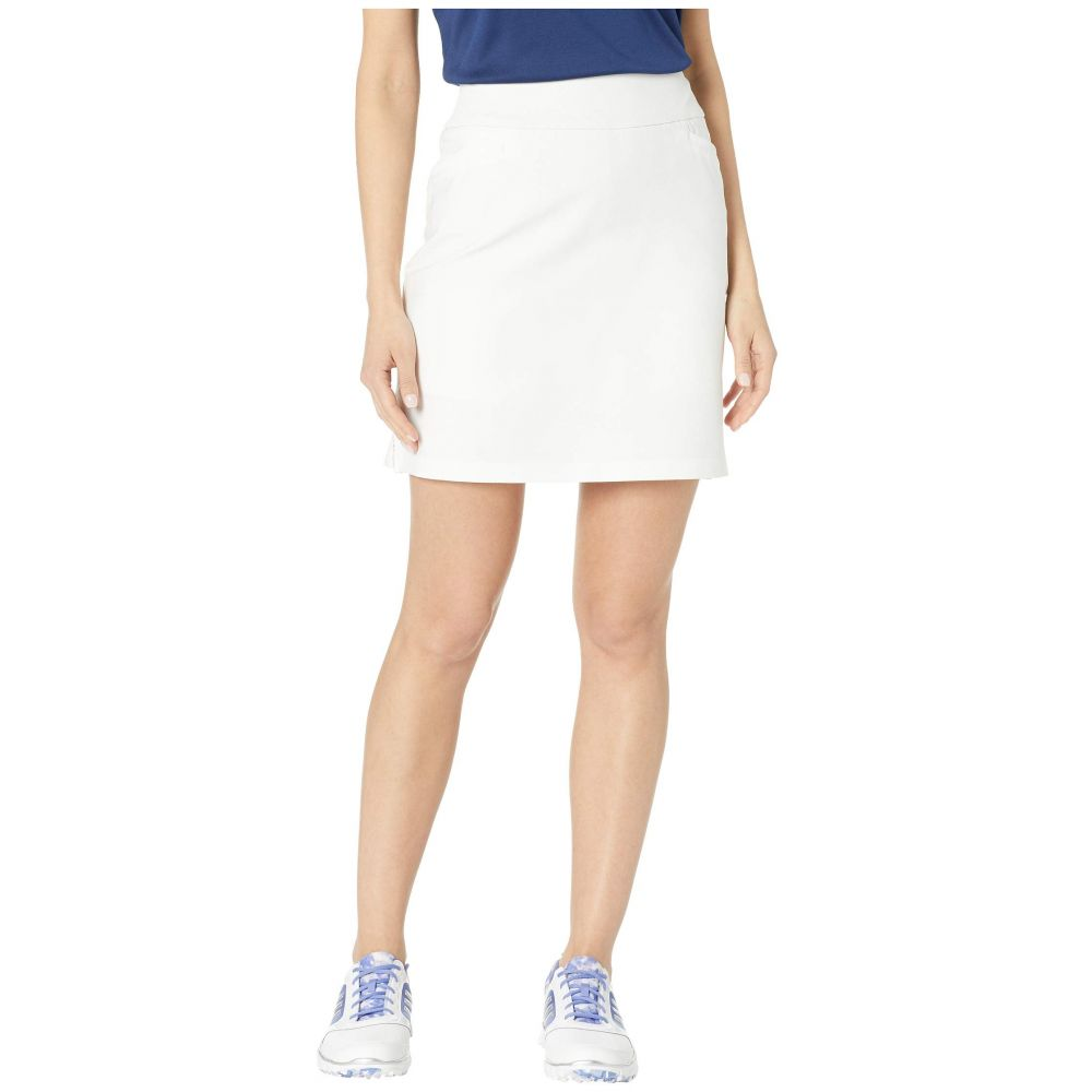 アディダス adidas Golf レディース スカート ミニスカート【Ultimate Woven 18' Skort】White