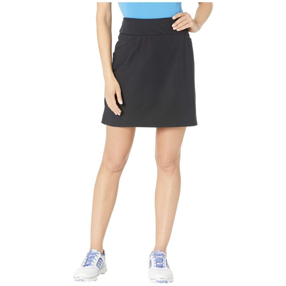 アディダス adidas Golf レディース スカート ミニスカート【Ultimate Woven 18' Skort】Black