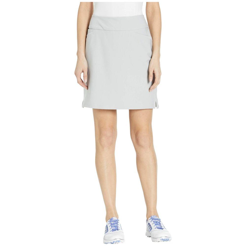 アディダス adidas Golf レディース スカート ミニスカート【Ultimate Woven 18' Skort】Grey Two