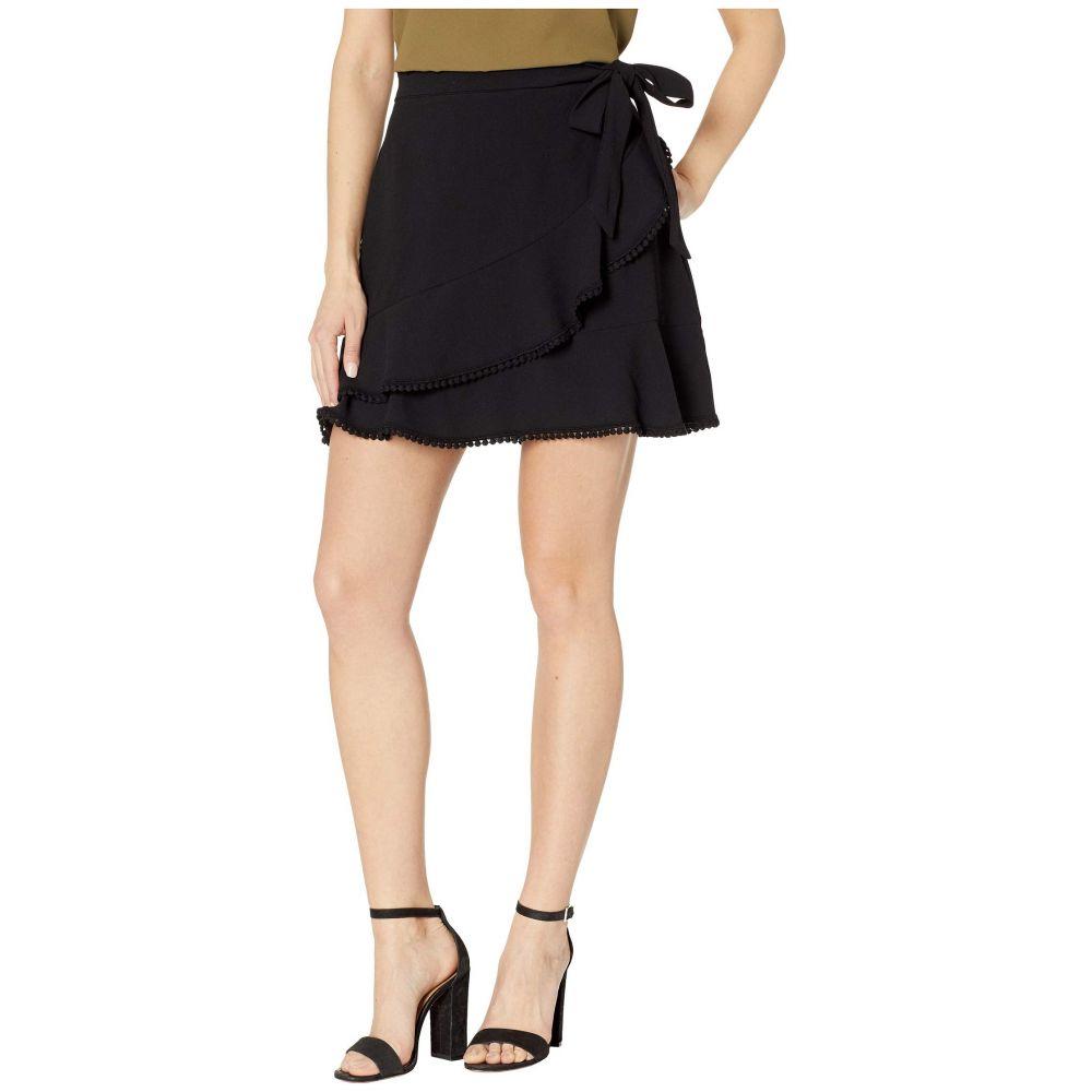 カップケーキ アンド カシミア Cupcakes and Cashmere レディース スカート【Zetta Faux Wrap Skirt】Black