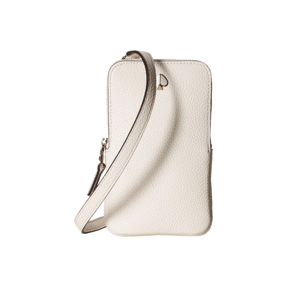ケイト スペード Kate Spade New York レディース スマホケース【Polly Phone Crossbody for iPhone】Parchment