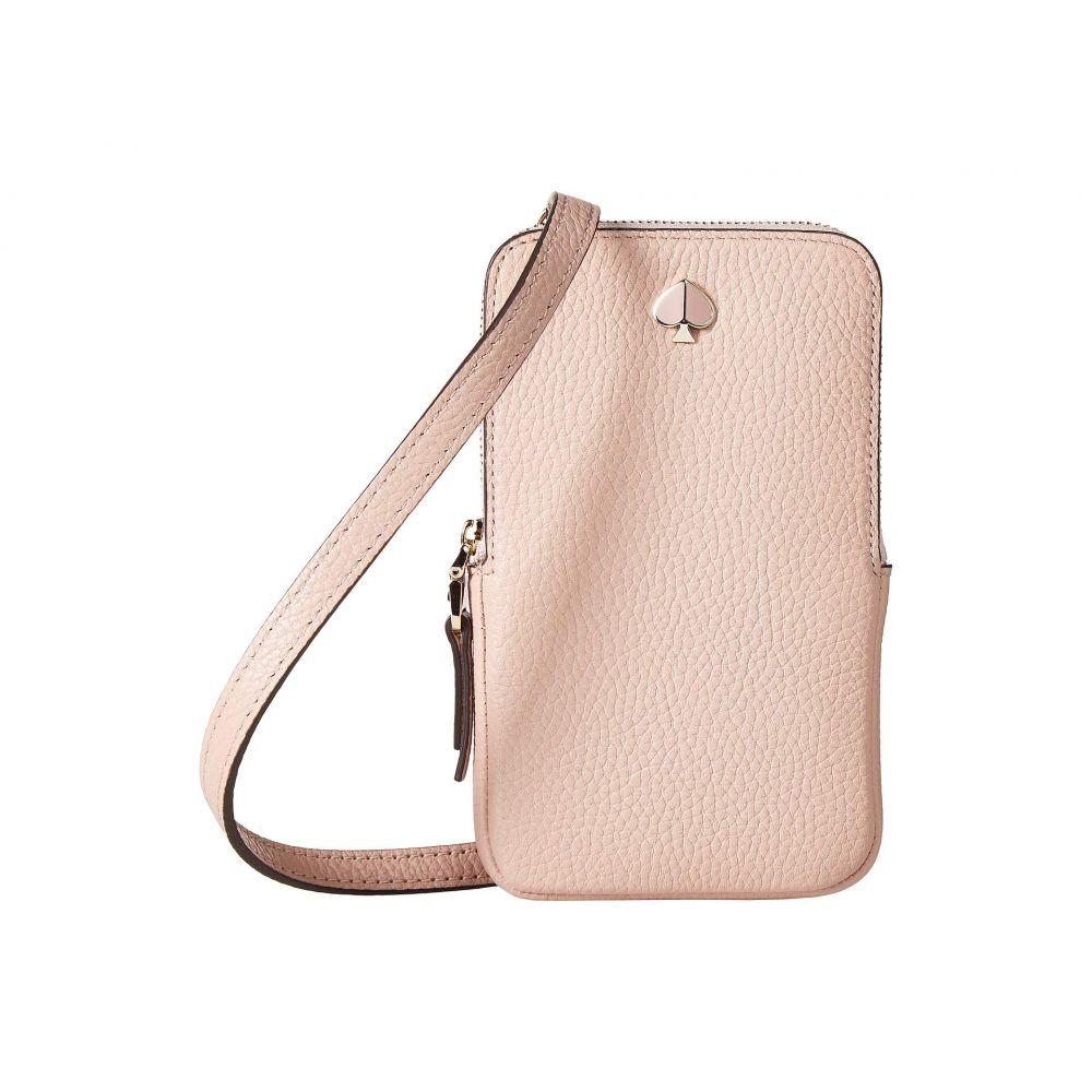 ケイト スペード Kate Spade New York レディース スマホケース【Polly Phone Crossbody for iPhone】Flapper Pink