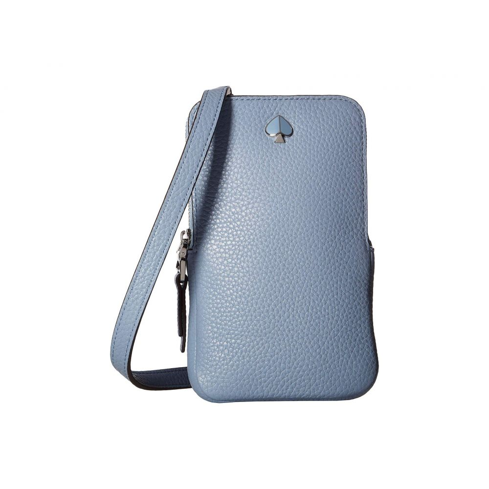 ケイト スペード Kate Spade New York レディース スマホケース【Polly Phone Crossbody for iPhone】Horizon Blue
