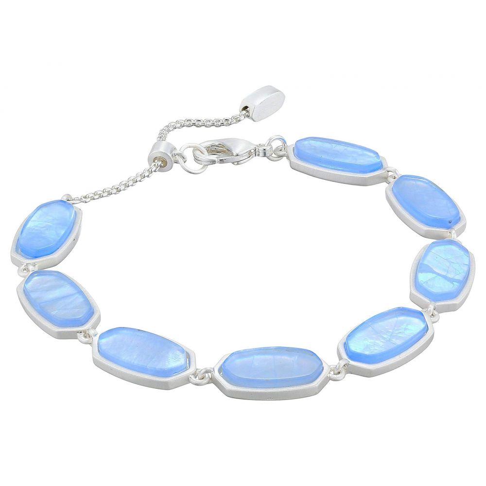 ケンドラ スコット Kendra Scott レディース ジュエリー・アクセサリー ブレスレット【Millie Bracelet】Bright Silver/Sky Blue Illusion