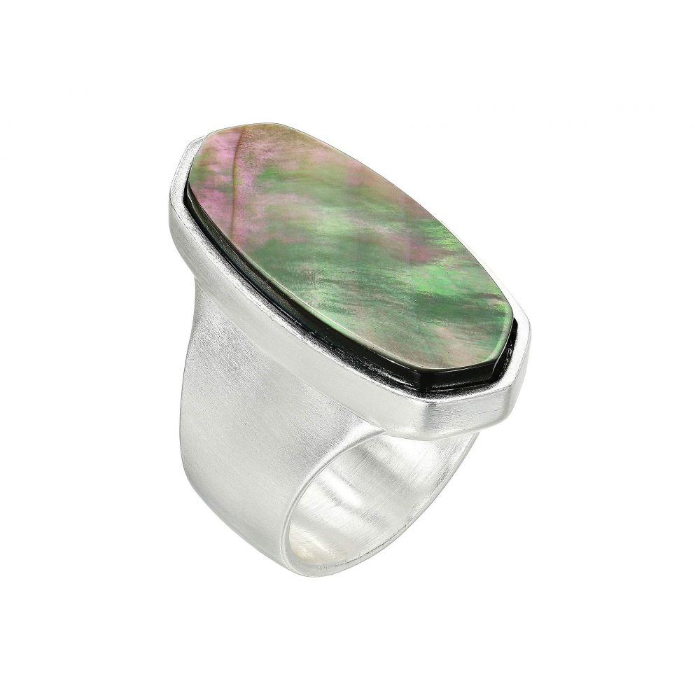 ケンドラ スコット Kendra Scott レディース ジュエリー・アクセサリー 指輪・リング【Kit Ring】Bright Silver/Black Mother-of-Pearl