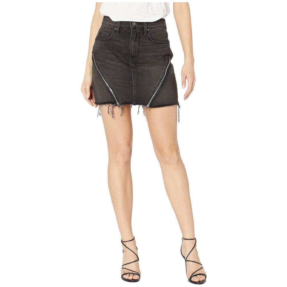 ハドソン Hudson レディース スカート ミニスカート【The Viper Mini Skirt in Void】Void
