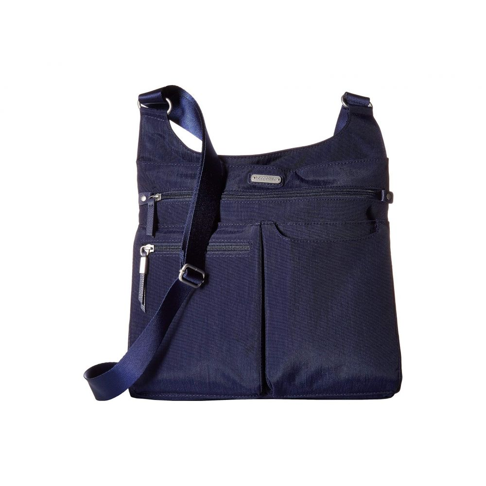 バッガリーニ Baggallini レディース スマホケース【On Track Zip Crossbody with RFID Phone Wristlet】Navy