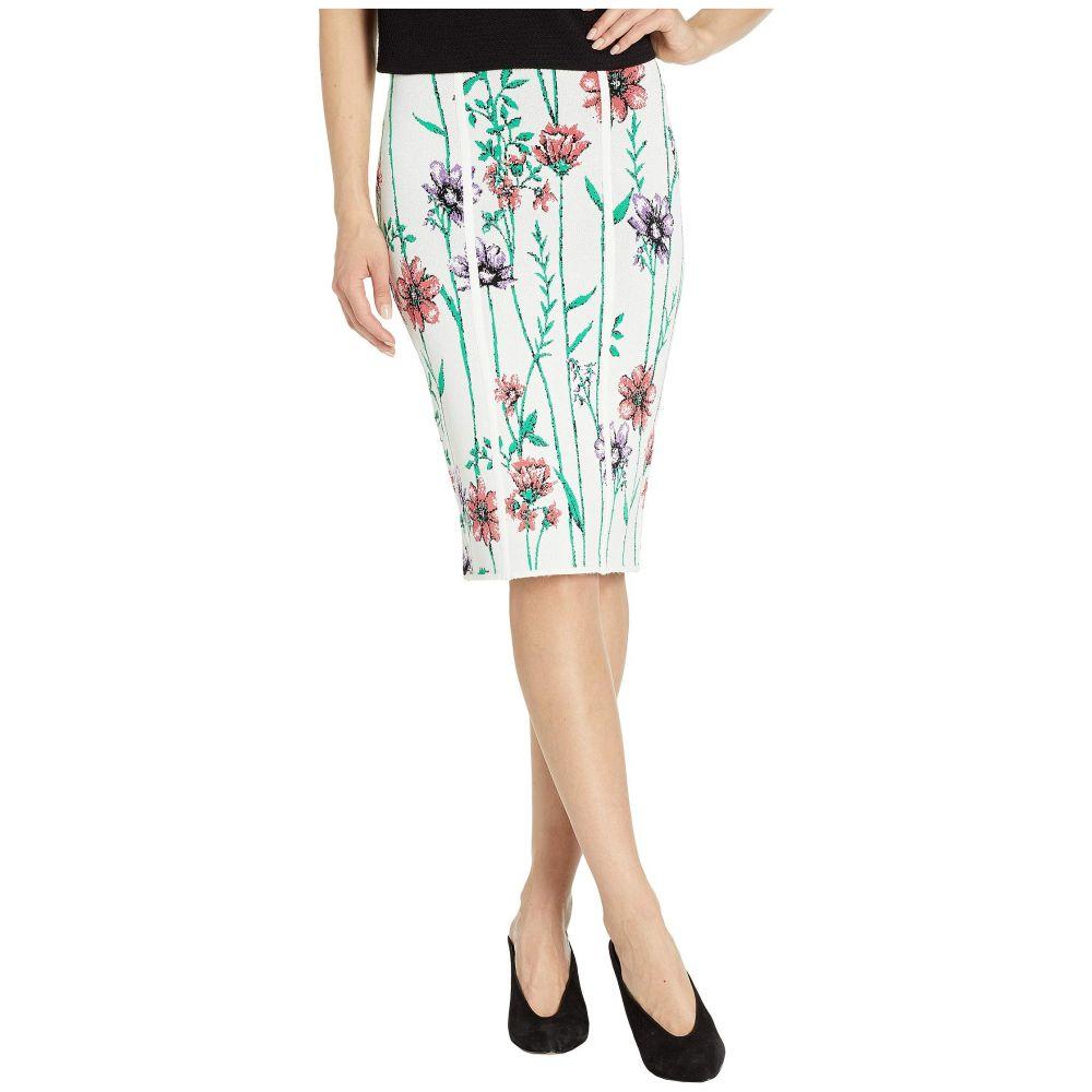 ビーシービージーマックスアズリア BCBGMAXAZRIA レディース スカート【Floral Knit Skirt】Gardenia Combo
