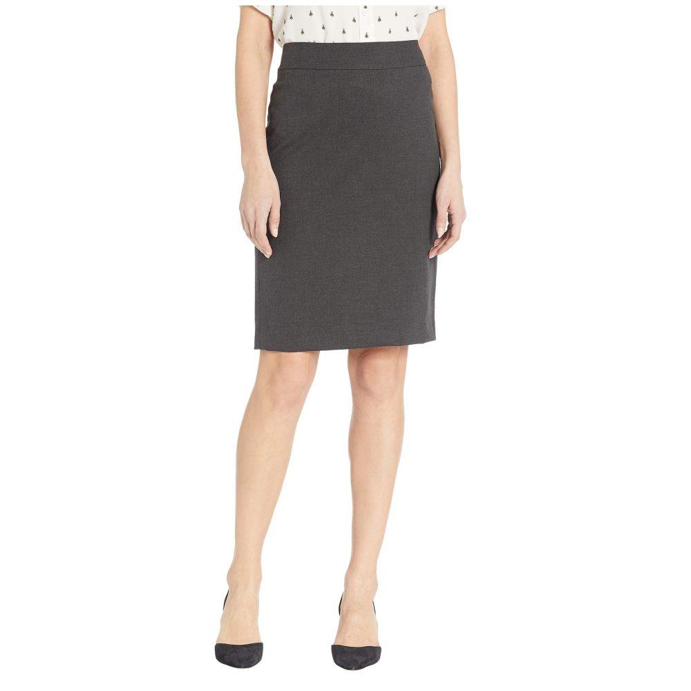 ジョーンズ ニューヨーク Jones New York レディース スカート ひざ丈スカート【Washable Suiting Pencil Skirt】Pewter Heather