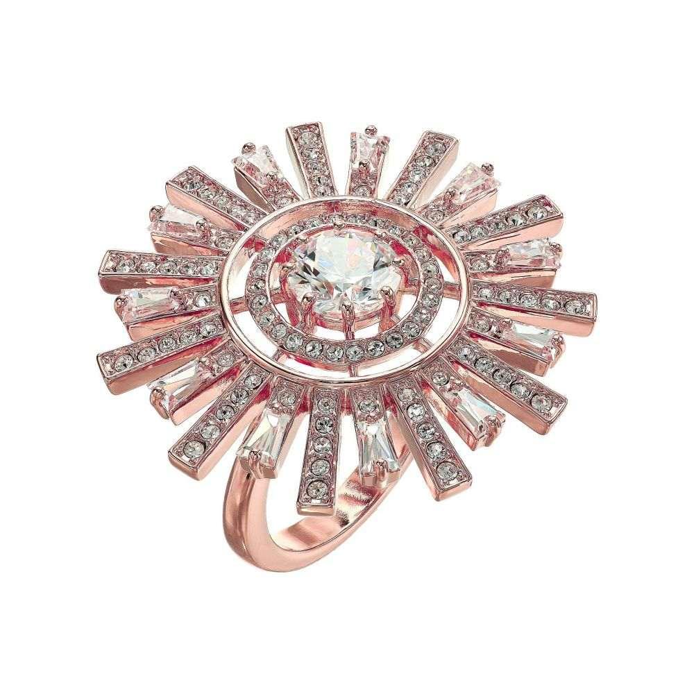 スワロフスキー Swarovski レディース ジュエリー・アクセサリー 指輪・リング【Sunshine Cocktail Ring】White/Rose Gold Plating