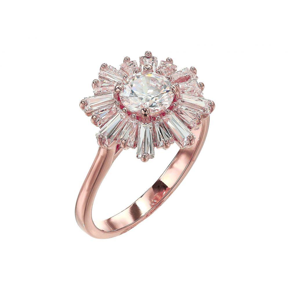 スワロフスキー Swarovski レディース ジュエリー・アクセサリー 指輪・リング【Sunshine Ring】White/Rose Gold Plating