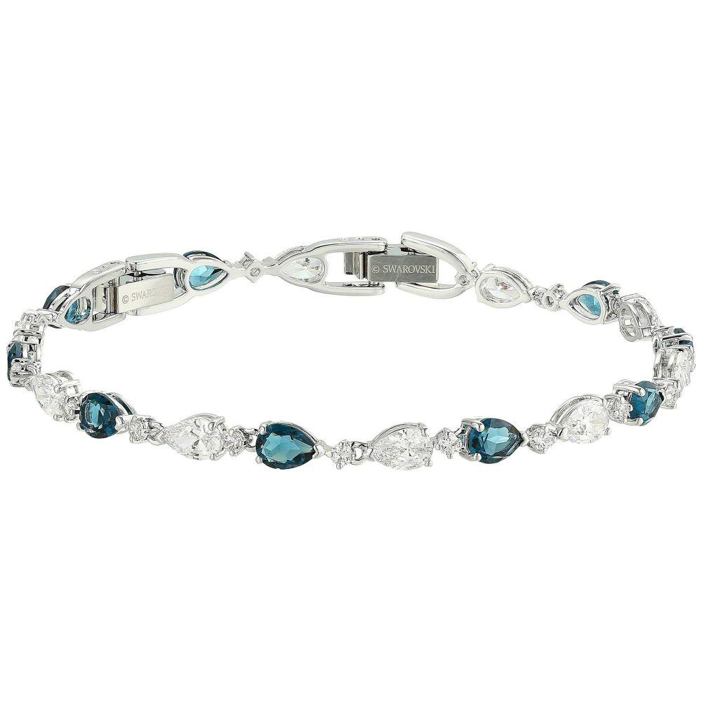 スワロフスキー Swarovski レディース ジュエリー・アクセサリー ブレスレット【Vintage Bracelet】Blue/Rhodium Plating