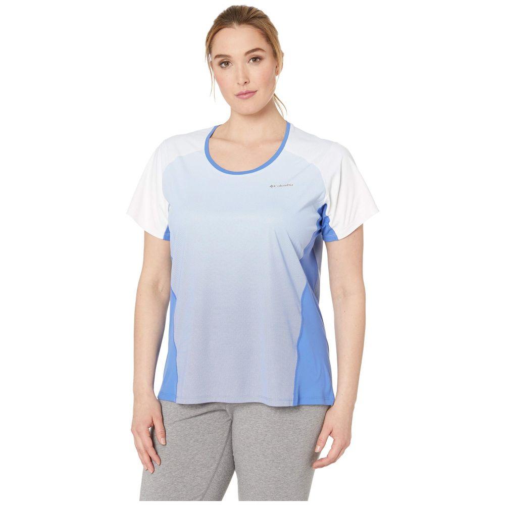 コロンビア Columbia レディース トップス【Plus Size Solar Chill(TM) 2.0 Short Sleeve Shirt】Arctic Blue