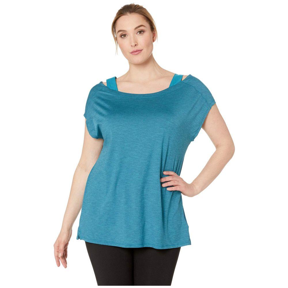 コロンビア Columbia レディース トップス【Plus Size Place To Place(TM) Short Sleeve Shirt】Siberia Heather