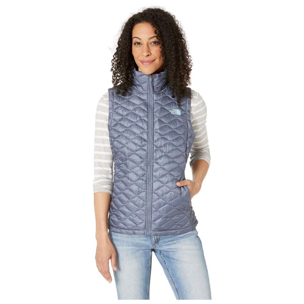 ザ ノースフェイス The North Face レディース トップス ベスト・ジレ【ThermoBall(TM) Vest】Grisaille Grey/Mint Blue