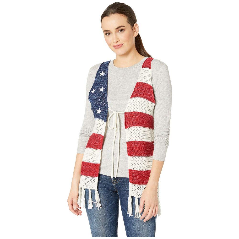 コレクション XIIX Collection XIIX レディース トップス ベスト・ジレ【Americana Vest with Tassels】Ivory