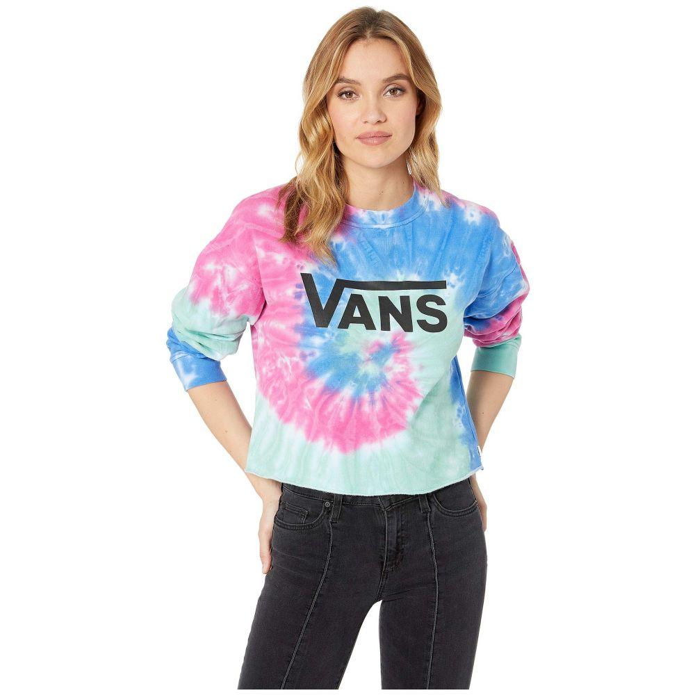 ヴァンズ Vans レディース トップス ベアトップ・チューブトップ・クロップド【Dye Job Crop Crew】Tie-Dye