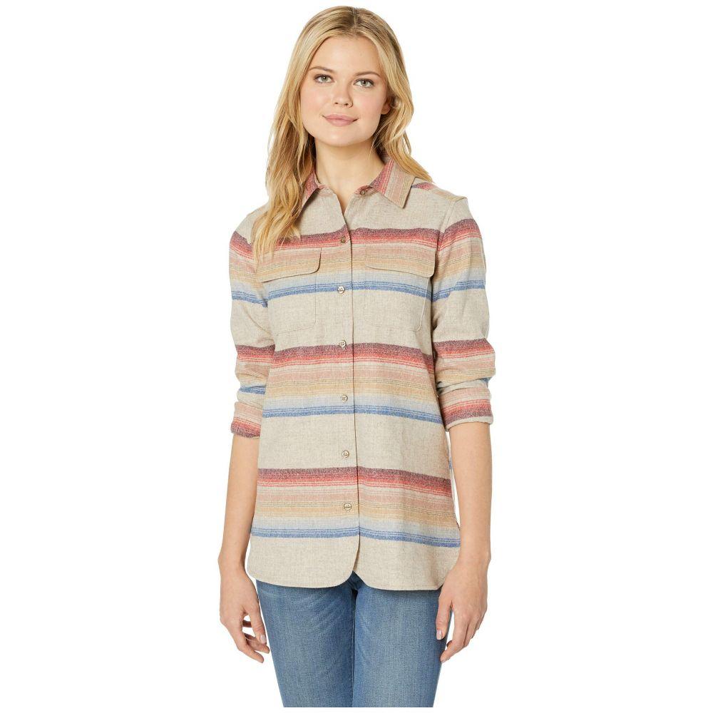 ペンドルトン Pendleton レディース トップス ブラウス・シャツ【Board Shirt】Tan Mix Multi Stripe