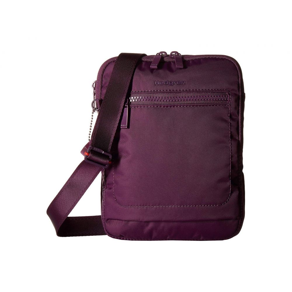 ヘデグレン Hedgren レディース バッグ ショルダーバッグ【Trek Small Vertical Crossover with RFID Pocket】Purple Passion