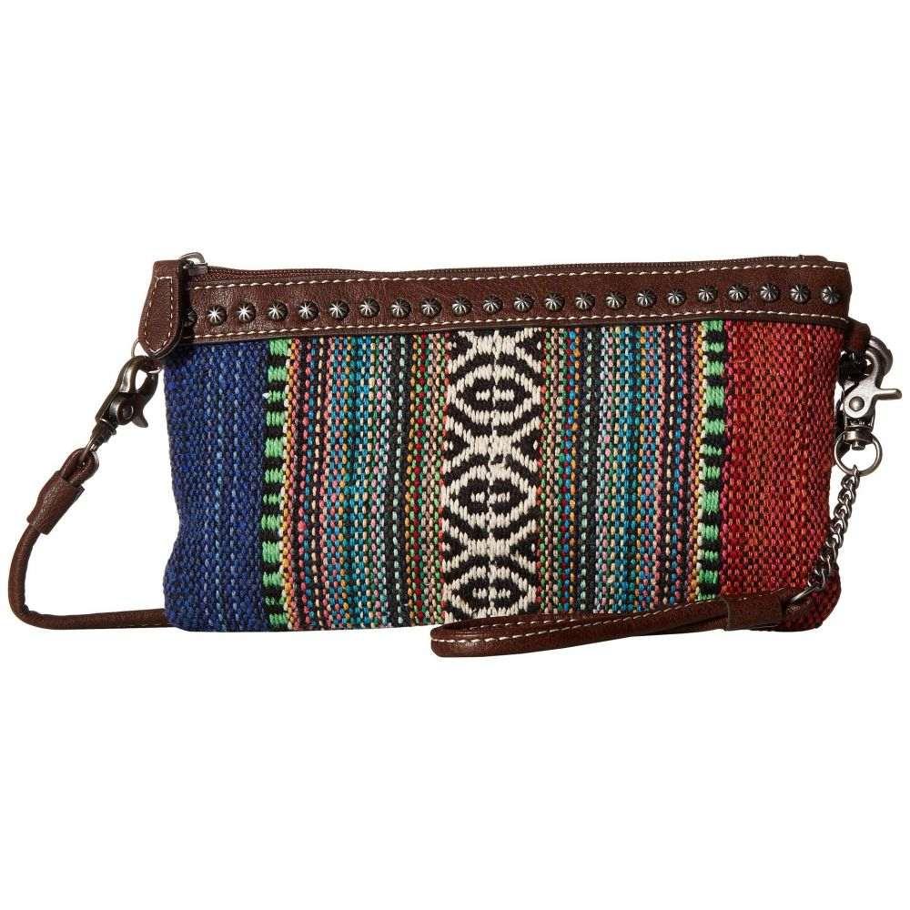 エムアンドエフ ウエスタン M&F Western レディース バッグ ショルダーバッグ【Savannah Crossbody Belt Bag】Serape/Brown