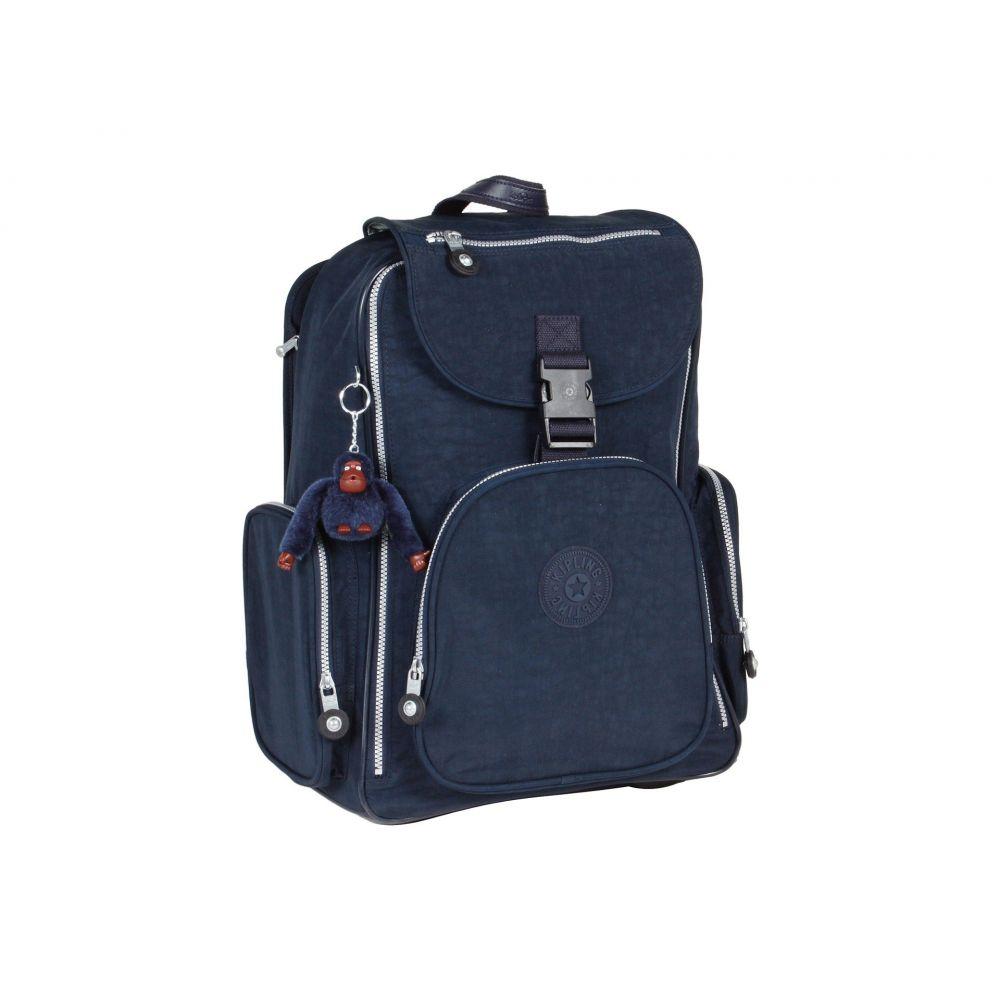 キプリング Kipling レディース バッグ パソコンバッグ【Alcatraz II Backpack With Laptop Protection】Blue