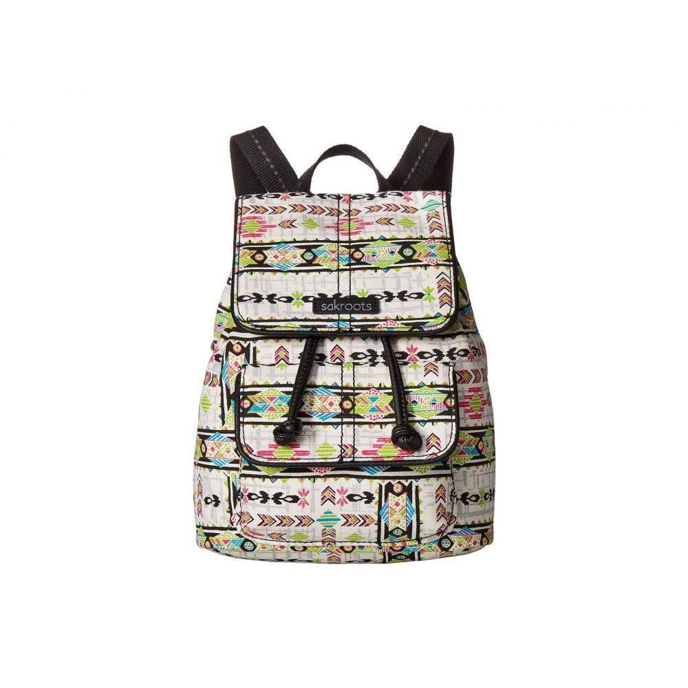 サックルーツ Sakroots レディース バッグ バックパック・リュック【Artist Circle Mini Flap Backpack】Optic Spirit Wanderer