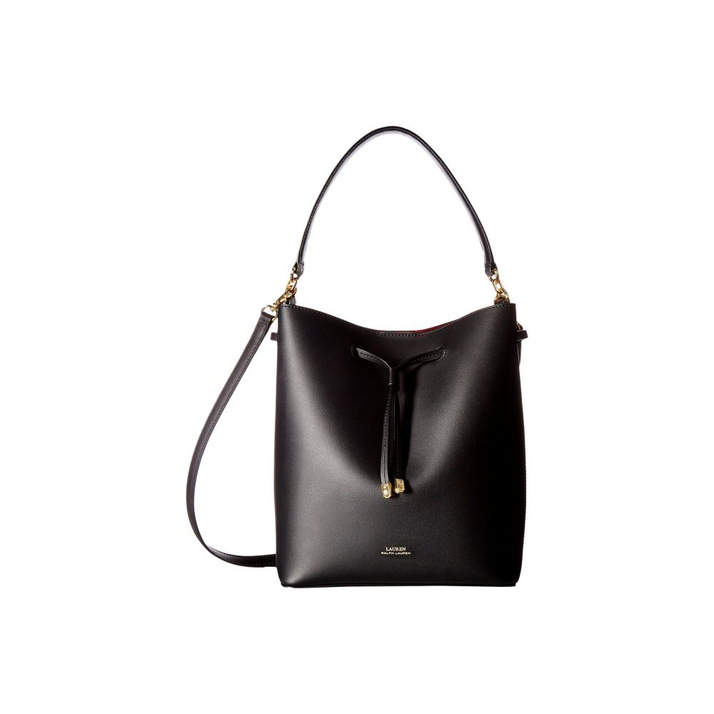 ラルフ LAUREN ローレン LAUREN Ralph Lauren レディース バッグ ハンドバッグ【Dryden Lauren バッグ Debby Drawstring Medium】Black/Red, HOMES interior/gift:0205ec22 --- sunward.msk.ru