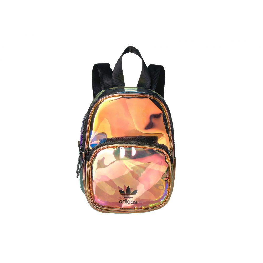 アディダス adidas Originals レディース バッグ バックパック・リュック【Originals Mini Iridescent Backpack】Radiant Metallic