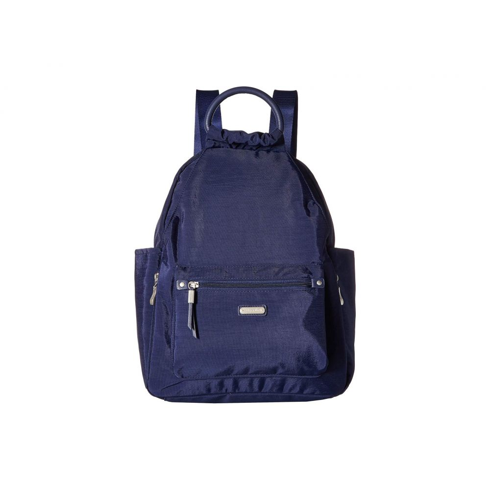 バッガリーニ Baggallini レディース バッグ バックパック・リュック【New Classic 'Heritage' All Day Backpack with RFID Phone Wristlet】Navy