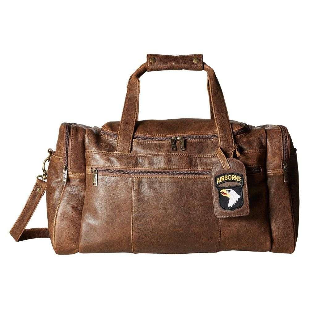 スカーリー Scully レディース バッグ ボストンバッグ・ダッフルバッグ【Squadron Duffel w/ 81 Aero Squadron Luggage Tag】Antique Brown