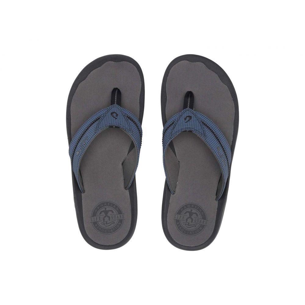 オルカイ OluKai メンズ Blue/Charcoal シューズ・靴 ビーチサンダル【Kia'I オルカイ II II】Trench】Trench Blue/Charcoal, ウチウラマチ:76f8cc7d --- sunward.msk.ru