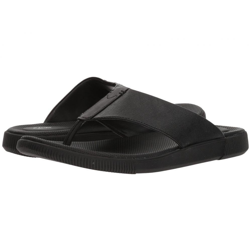 クラークス Clarks Clarks メンズ シューズ クラークス・靴 Leather ビーチサンダル【Vine Oak】Black Leather, ヒガシムラ:868fbead --- sunward.msk.ru