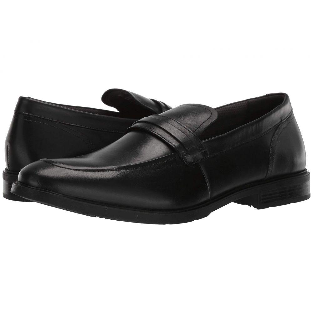 ハッシュパピー Hush Puppies メンズ シューズ・靴 スリッポン・フラット【Advice MT Slip-On】Black Leather