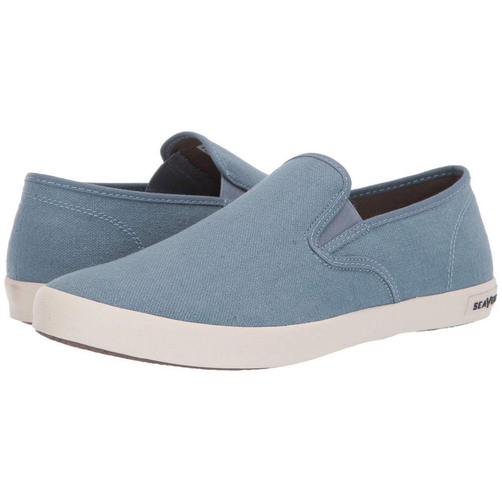 シービーズ SeaVees メンズ シューズ・靴 スリッポン・フラット【Baja Slip-On Standard】Blue Mirage