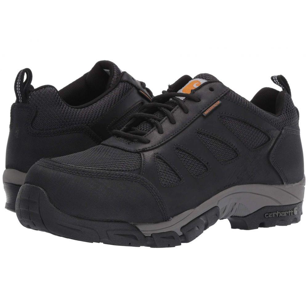カーハート Carhartt メンズ シューズ・靴【Lightweight Low Waterproof Work Hiker Carbon Nano Toe】Black Leather
