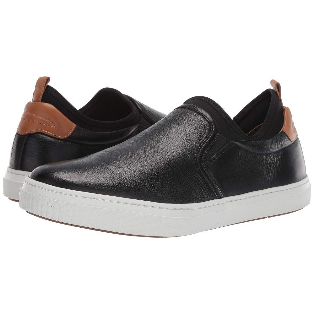 ジェイ&エム J&M EST. 1850 メンズ シューズ・靴 スリッポン・フラット【Toliver Slip-On】Black