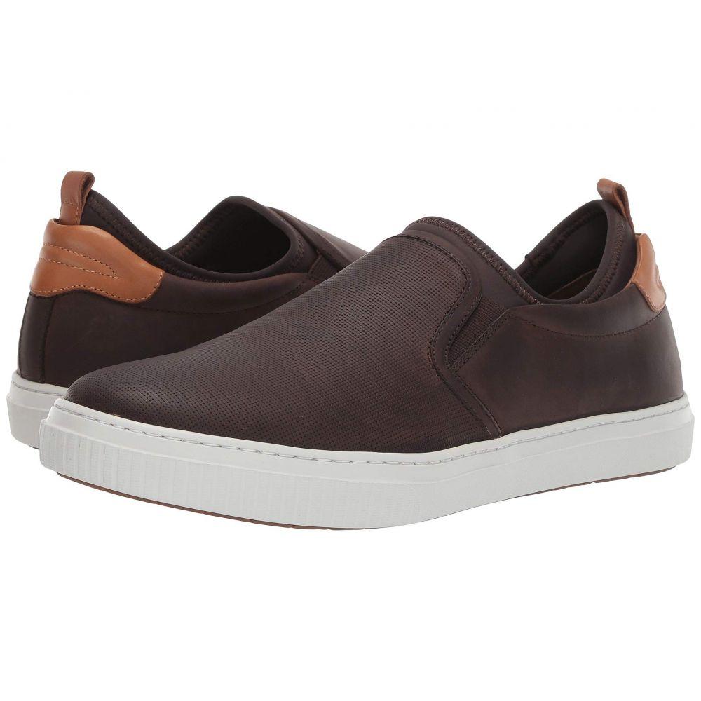 ジェイ&エム J&M EST. 1850 メンズ シューズ・靴 スリッポン・フラット【Toliver Slip-On】Brown