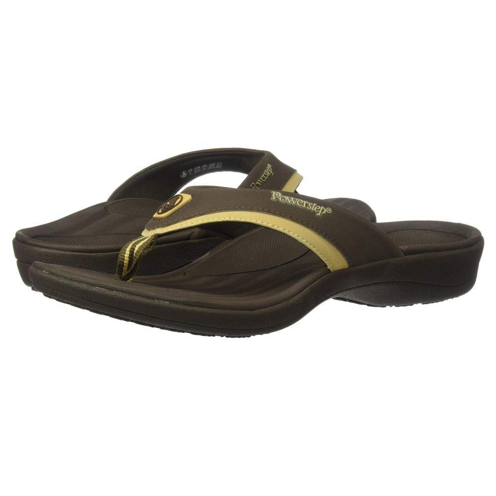 パワーステップ メンズ Powerstep Sandals】Brown メンズ シューズ・靴 ビーチサンダル【Fusion シューズ・靴 Sandals】Brown, ファッショングッズストアーズ:fb76495b --- sunward.msk.ru