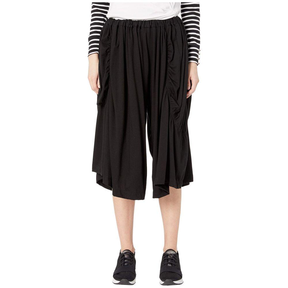 ヨウジヤマモト Y's by Yohji Yamamoto レディース ボトムス・パンツ【M-Asymmetry Gather Pants】Black