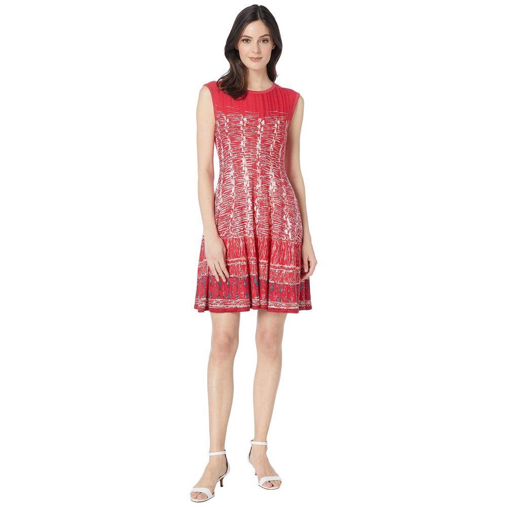ニックゾー NIC+ZOE レディース ワンピース・ドレス パーティードレス【Garden Party Dress】Cosmo Red