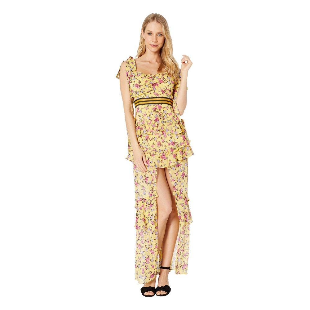 フォーラブアンドレモン For Love and Lemons レディース ワンピース・ドレス ワンピース【Maison Maxi Dress】Yellow