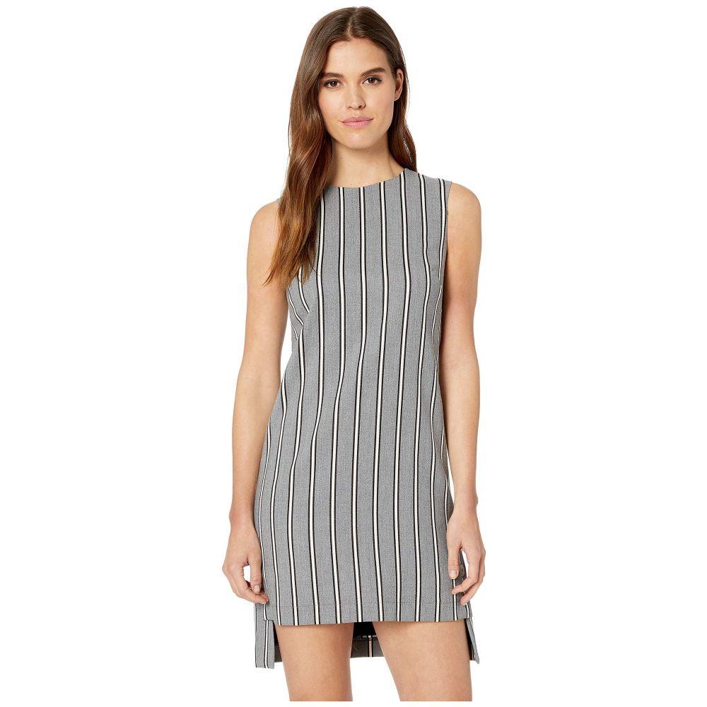 ニコルミラー Nicole Miller レディース ワンピース・ドレス ワンピース【Striped Shift Dress】Grey Multi