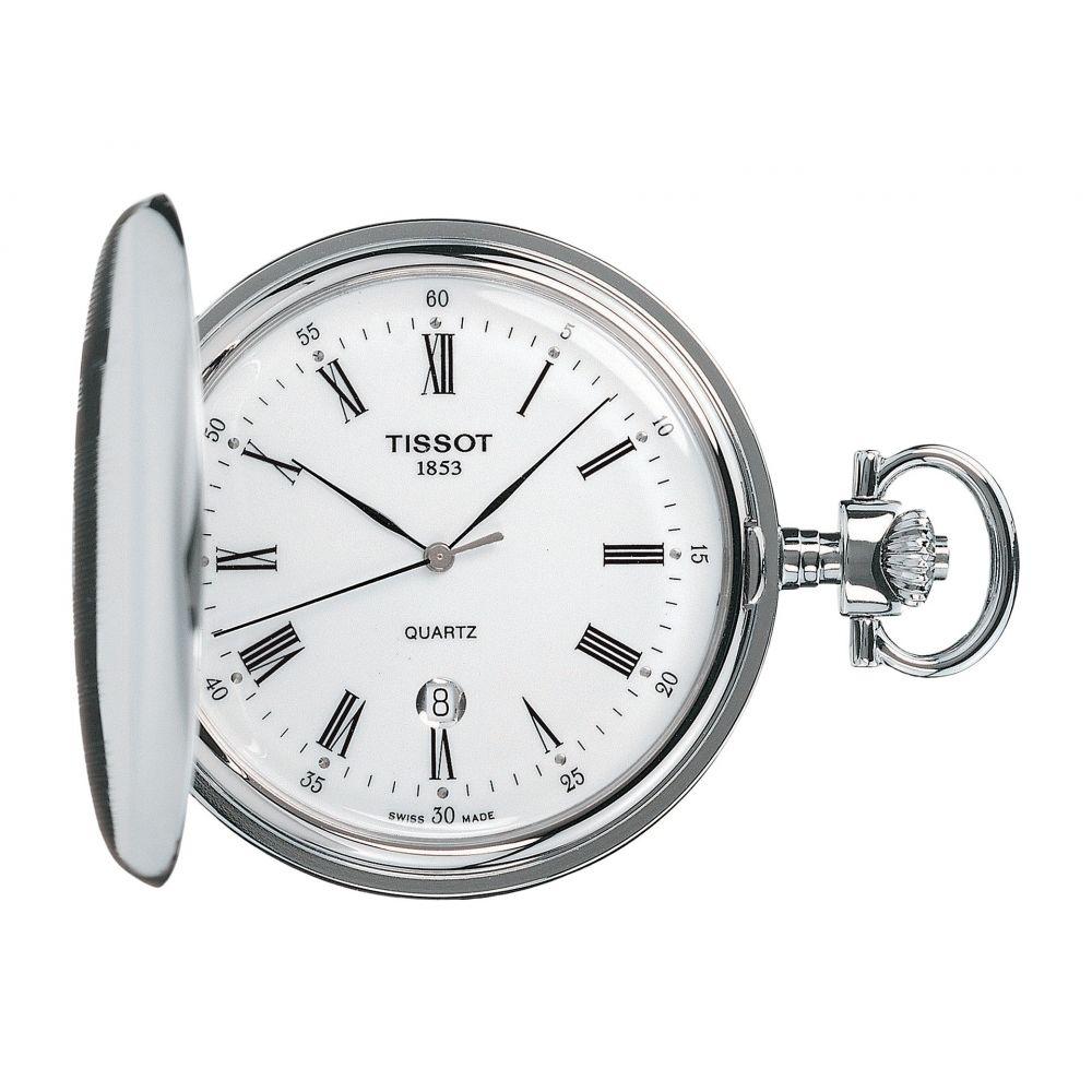 ティソ Tissot レディース 腕時計【Savonnette - T83655313】White