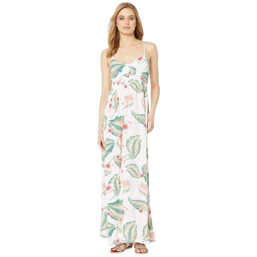 ロキシー Roxy レディース ワンピース・ドレス ワンピース【Brilliant Stars Maxi Dress】Marshmallow Tropical Love