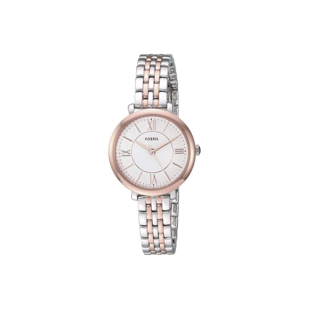 フォッシル Fossil レディース 腕時計【Jacqueline Mini - ES4612】Rose Gold/Silver