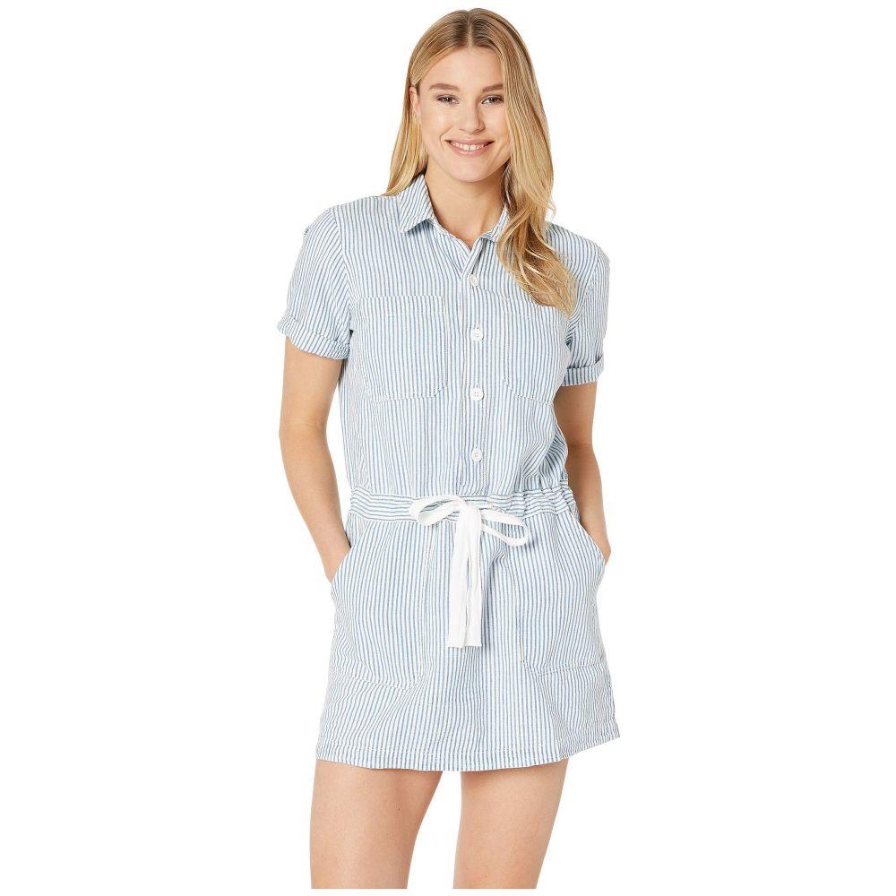 ラッキーブランド Lucky Brand レディース ワンピース・ドレス ワンピース【Drawstring Dress】Thackery Stripe
