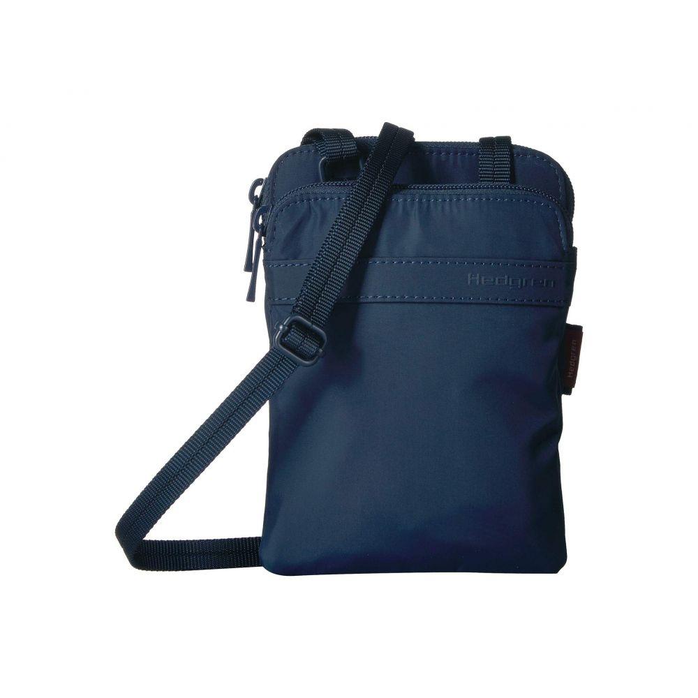 ヘデグレン Hedgren レディース パスポートケース【Rupee Passport Holder with RFID Pocket】Dress Blue